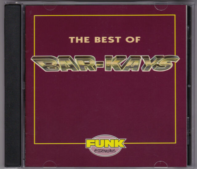 Bar-Kays - The Best Of Bar-Kays - CD (Mercury 1993 U.S.A.)