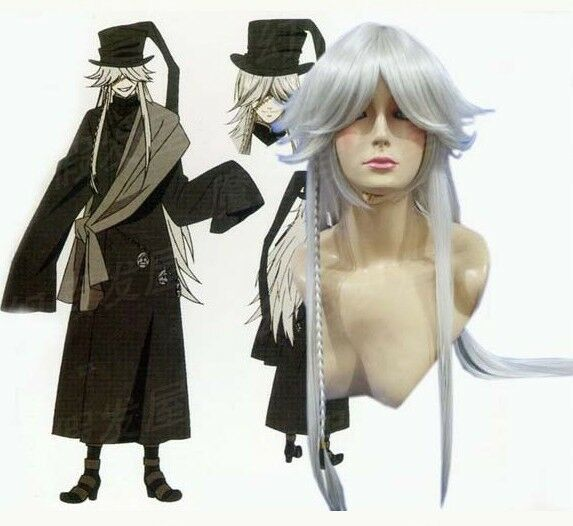 Kuroshitsuji Black Butler Undertaker Cosplay Perücke wig Pandora Hearts Alice