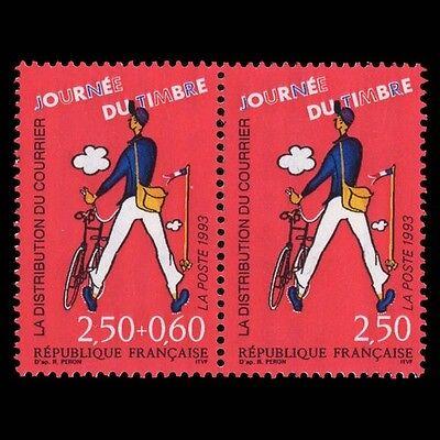 CARNET 1993 JOURN/ÉE du Timbre Le Facteur