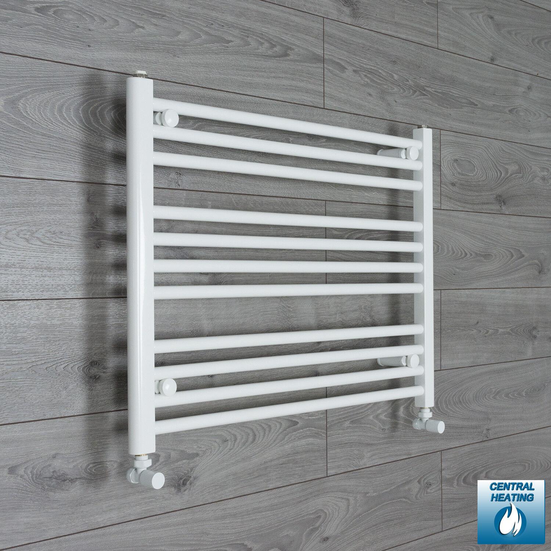 Larghezza 750 mm 600 mm alta dritto bianco binario calorifero radiatore bagno Rad