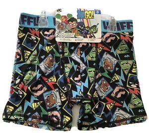 DC Comics Boys Teen Titans Athletic Boxer Brief