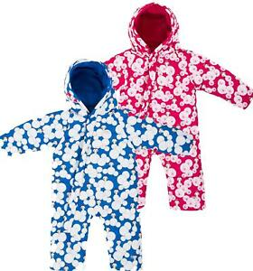 d9fc10cfa098 Trespass Theodore Babies Snowsuit Insulated Fleece Lined