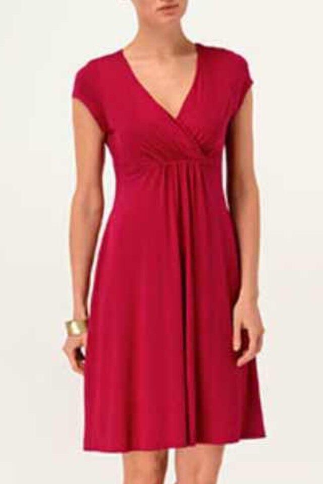 BNWT Phase Eight  8 Hatty jersey Dress Größe 10 rot