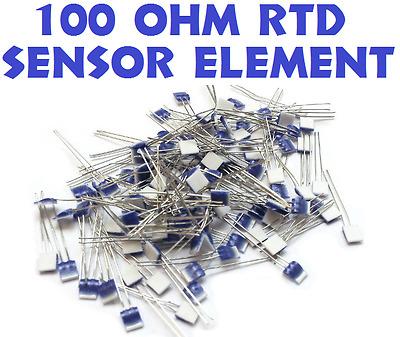 25 LOT 100 OHM Heraeus M222 PRTD Platinum RTD Temperature Sensor Element Omega B