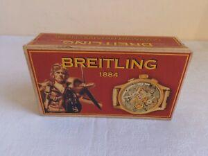 """100% QualitäT Handgefertigt Armbanduhr """"breitling"""" Karton Uhrenboxen Uhren Schatulle Kasten"""