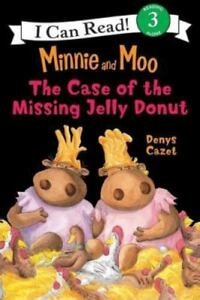 Minnie-and-Moo-The-Case-of-the-Missing-Jelly-Donut-I-Can-Read-Book-3-by-Cazet