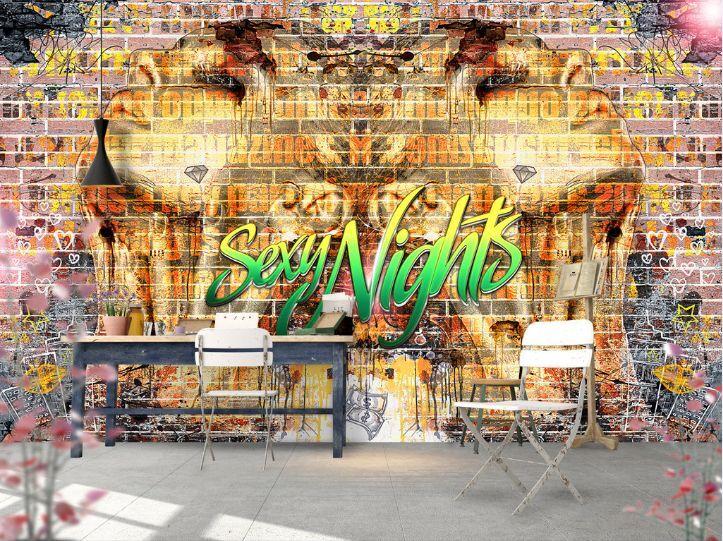 3D Mit Goldenen 12093 Fototapeten Wandbild Fototapete BildTapete FamilieDE