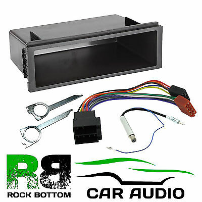 Volkswagen Passat 1999-05 Single DIN Car Stereo Radio Pocket Fascia Aerial & Key