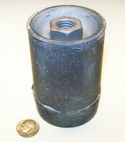 """AIRCRAFT C17A J-3424-49 NOS RESILIENT MOUNT 3/"""" L 2/"""" OD 1//2-13 FEMALE THREAD ENDS"""