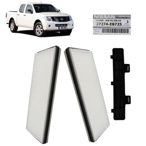Cover White Fits Nissan Navara D40 2006 07 2011 12 13 Genuine Cabin Air Filter