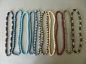 10-NEW-MIXED-WOOD-BEAD-NECKLACE-FESTIVAL-PARTY-JOB-LOT-WHOLESALE-LEAVERS-GIFT