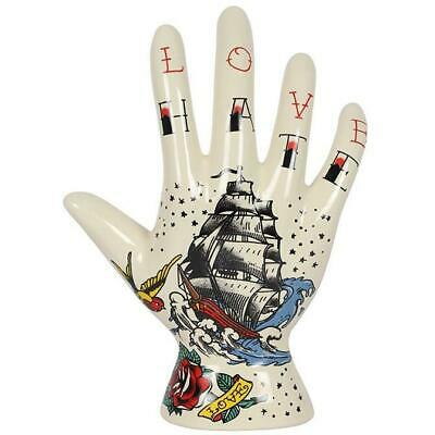 Ceramic Palmistry Hand Ornament