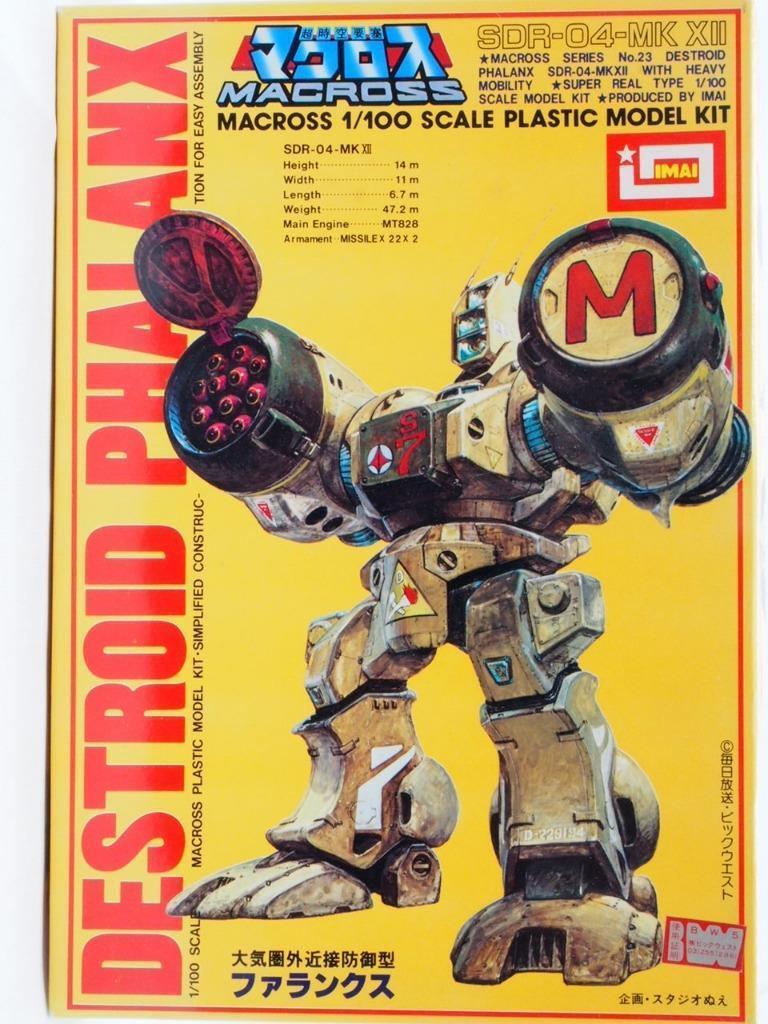 Destroid Phalanx Macross 1 100 Plastic Model kit IMAI