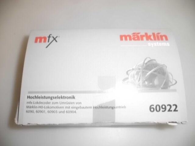 60922  Märklin  MFX-Hochleistungs-Elektronik  | Erste Qualität