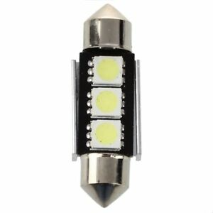 10X-CANBUS-36mm-Free-Error-3-LED-5050-SMD-6418-C5W-Placas-Dome-Bombilla-U1H7