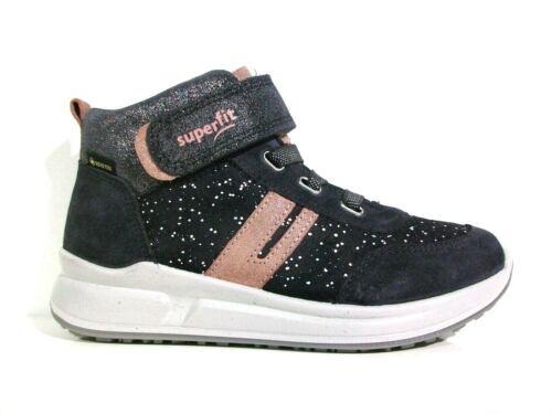 Superfit Mädchen Hohe Sneaker MERIDA Gore-Tex 1-009199-8010 grau//ros Größe 27-35