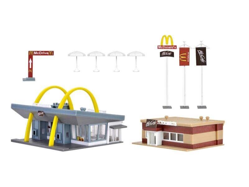 Vollmer 47766 McDonald´s Schnellrestaurant mit McCafé, Bausatz, Spur N N N e46239