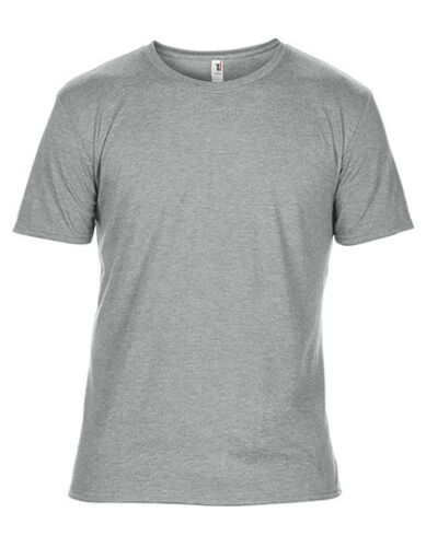 Anvil Herren T-Shirt ADULT TRI-BLEND TEE Kurzarm Rundhals Kurzarm Neu A6750