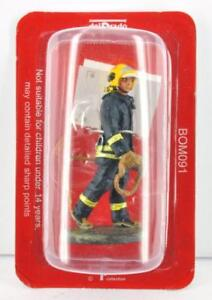 """SOLDATINO POMPIERI FIREMAN /"""" Fireman London 2003 /"""" DEL PRADO BOM021"""