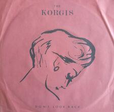 """7"""" 1982 RARE IN VG+++ ! THE KORGIS : Don´t Look Back"""