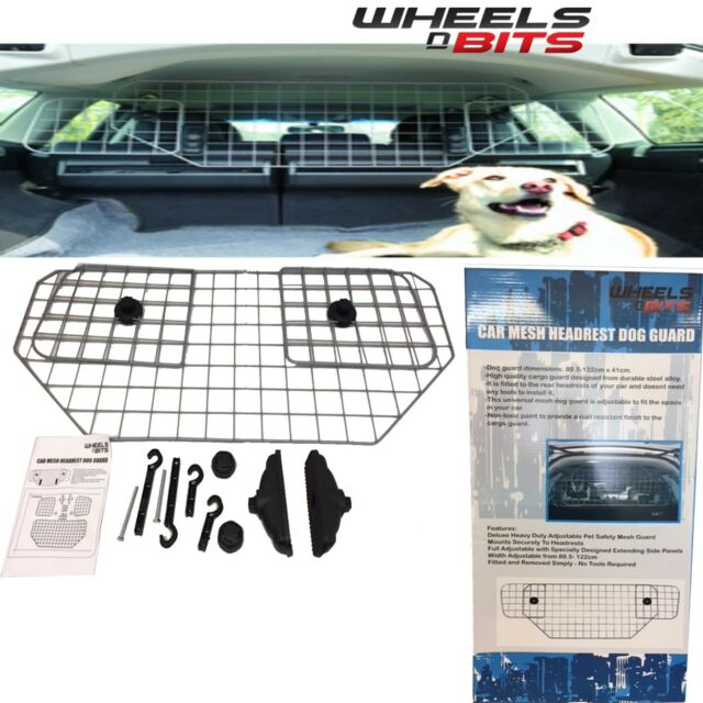 Heavy Duty Mesh Headrest Pet Dog Guard For Ford Ka Plus 2016 On