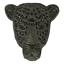 XXL Patch Aufnäher Leopard mit Pailletten