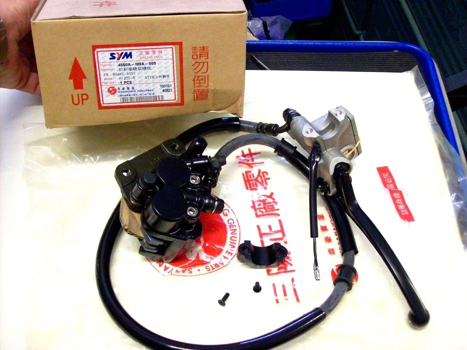 4550A-T31-000 SYM Sanyang Fancy 50 Bremspumpe rechts mit Hebel  ET