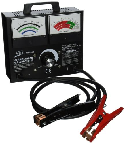 Atd Tools ATD-5489 Variable Load Carbon Pile Battery Tester