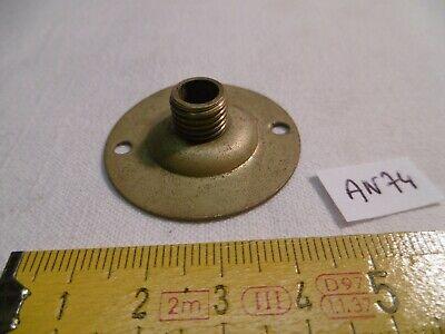 col de cygne ancien en laiton fileté au pas français 10,85 mm réf M97