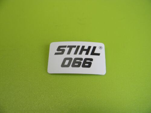 -------------- STIHL CHAINSAW 066 NAME TAG BADGE NEW OEM # 1122 967 1505 UP116