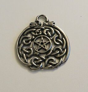 Details about PENTACLE PENDANT CHARM W/CELTIC KNOTWORK PAGAN/WICCA CELTIC  WITCH JEWELRY CRAFTS