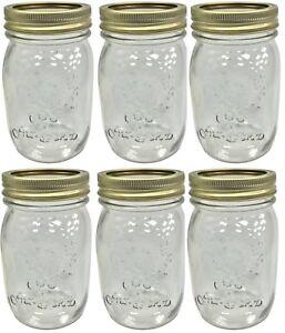Set-of-12-Glass-Screw-Top-Preserve-Jars-Jam-Pickle-Chutney-Jar-2-Part-Lid