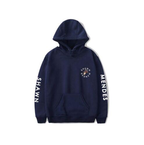 Shawn Mendes Hoodies Long Sleeved Sweater Sportwear Hoodie Coat Jacket XS-4XL