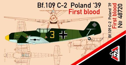 Poland /'39 First blood scale model kit 1//48 AMG 48720 Messerschmitt Bf.109C-2