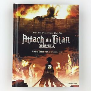 Attack on Titan: Part 1 (Blu-ray/DVD, 2014, 4-Disc Set, Limited Edition) 704400072611   eBay