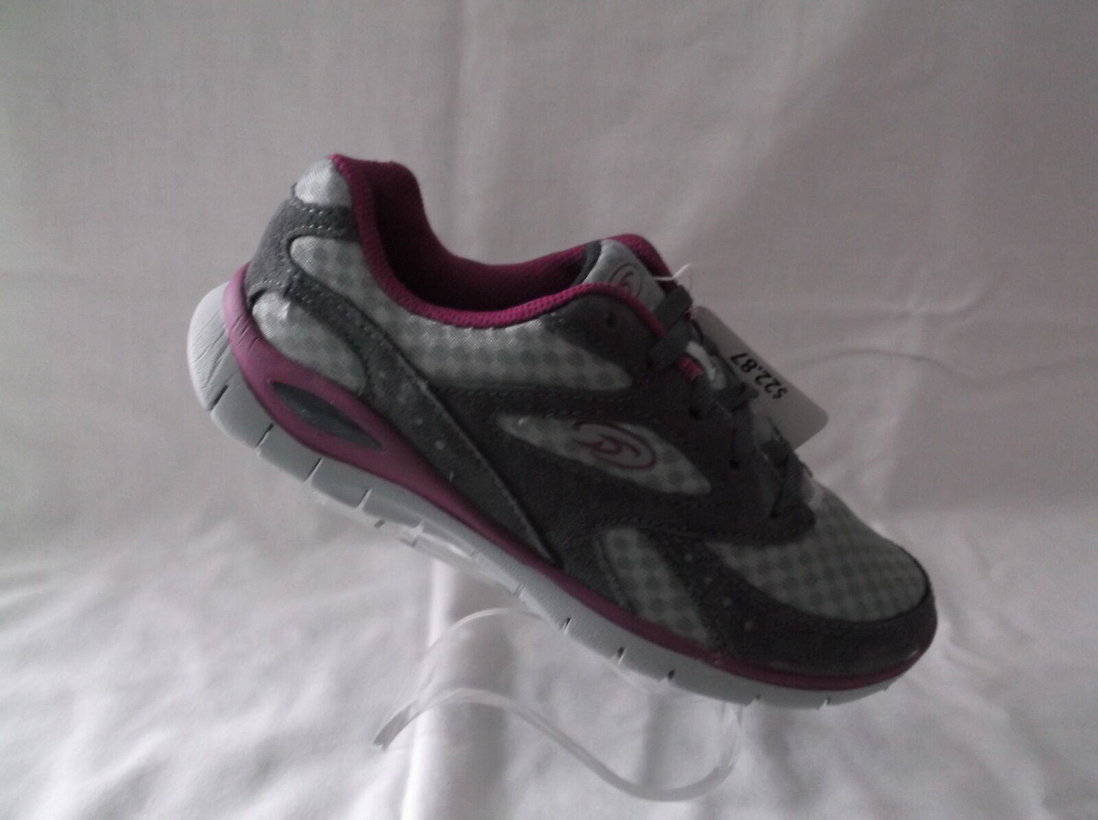 DR SCHOLL'S (SHIRLEY) WOMENS GEL INNERSOLE ATHLETIC BOX SHOE GRAYS NEW IN BOX ATHLETIC 9b2c71