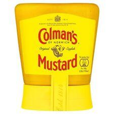 Colman's Originale Inglese Senape bottiglia 150g-venduta in tutto il mondo dal Regno Unito