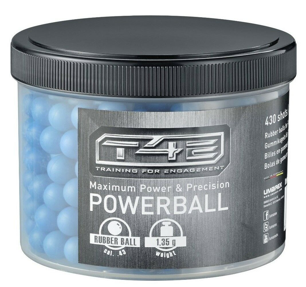 T4E Powerballs Cal .43 Umarex Walther PPQ  RAM Magfed PaintNoMore