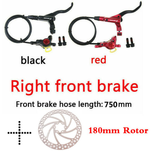 MTB Bike Hydraulic Disc Brake 140//160//180//203mm 6 Bolts Rotor Fit SHIMANO//SRAM