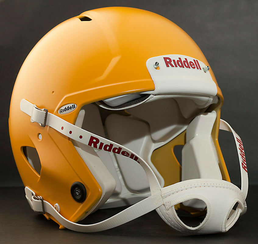 Riddell Revolution SPEED Classic Football Helmet (color  MATTE GREEN BAY gold)