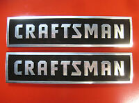 2 Craftsman Tool Box Badges,new Style: Chest/cabinet,emblem,decal,sticker,logo
