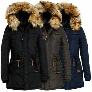 navahoo jane damen jacke fr hling bergang mantel parka. Black Bedroom Furniture Sets. Home Design Ideas