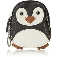 Relic By Fossil Takeaway Penquin Coin Purse Change Wallet W Keyring $28tag