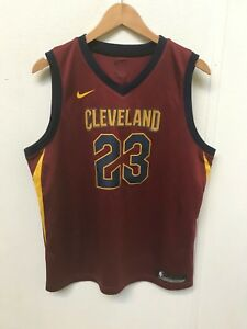 super popular faddc 7f978 Details about Nike Cleveland Cavaliers Men's NBA 2018 Away Jersey - 18-20  Years- James 23 -New