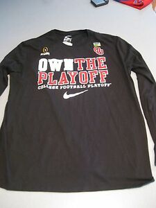 more photos 649da 13323 Details about NEW MEN'S SIZE XL THE NIKE TEE NEW COLLEGE FOOTBALL PLAYOFF  BLACK JERSEY