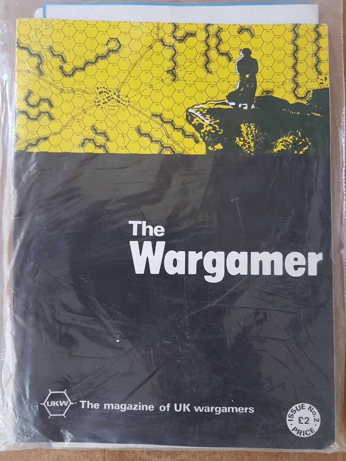 THE WARGAMER NUMBER 2 - BATTLE OF EYLAU - GAME PUNCHED & BAGGED