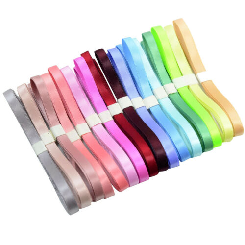 16x 1 Yard Double Sided Grosgrain Ribbons für DIY Haarschleife