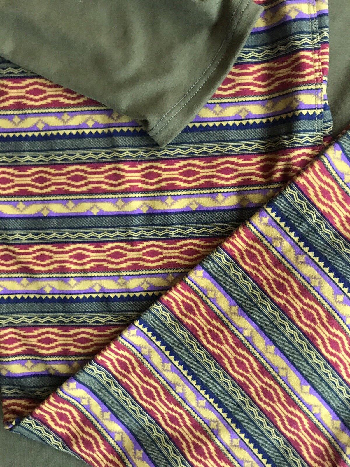 Lularoe LeggingsTCBeautiful Southwest Aztec Print-•Green•Rust•Purple•Yellow