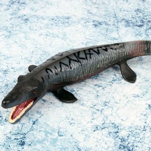 MOSASAURO MOSASAURUS TYLOSAURUS Figura Dinosauro Modello da Collezione Giocattolo Arredamento Regalo