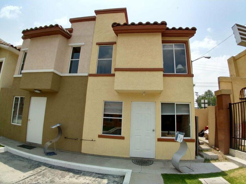 requieres casa nueva con recamara adicional planta baja y 2 arriba